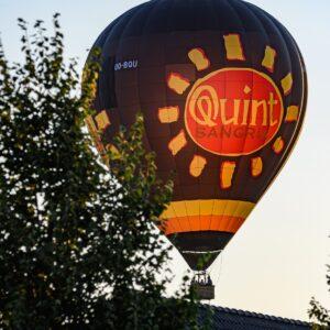 Ballonvaart Vlaamse Ardennen